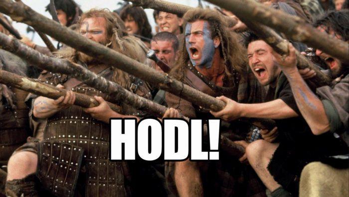 Crypto Hodl Bitcoin Braveheart